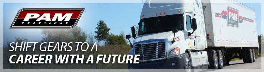 Lafayette, LA PAM Transport Trucking Job with CDL Training